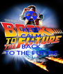 KEEP CALM AND BACK TO THE FUTURE - Personalised Poster A4 size