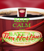 KEEP CALM AND BAKE AT TIM HORTONS - Personalised Poster A4 size