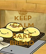 KEEP CALM AND BAKE  BREAD  - Personalised Poster A4 size