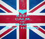 KEEP CALM AND BANG NIALL HORAN  - Personalised Poster A4 size