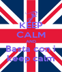 KEEP CALM AND Basta con i keep calm - Personalised Poster A4 size