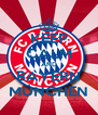 KEEP CALM AND BAYERN MÜNCHEN - Personalised Poster A4 size