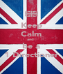 Keep Calm and  be a 1 Directioner - Personalised Poster A4 size