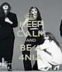 KEEP CALM AND BE A 4NIA - Personalised Poster A4 size