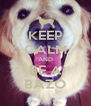 KEEP CALM AND BE A BAZO - Personalised Poster A4 size