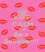 KEEP CALM AND Be a  Belieber!!!  - Personalised Poster A4 size