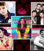 KEEP CALM AND BE A  BELIEBER, DIRECTIONER, LOVATIC, MAHOMIE,  AND SELENATOR - Personalised Poster A4 size