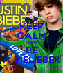 KEEP CALM AND BE A BIELIEBER - Personalised Poster A4 size