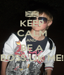 KEEP CALM AND  BE A BOSS LIK ME! - Personalised Poster A4 size