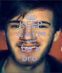 KEEP CALM AND be a bro  - Personalised Poster A4 size