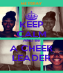 KEEP CALM AND Be A CHEER LEADER - Personalised Poster A4 size
