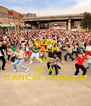KEEP CALM AND BE A  DANCIN' HANSON - Personalised Poster A4 size