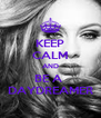 KEEP CALM AND BE A  DAYDREAMER - Personalised Poster A4 size