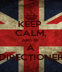 KEEP  CALM, AND BE  A DIRECTIONER - Personalised Poster A4 size