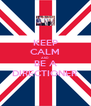 KEEP CALM AND BE A DIRECTIONER - Personalised Poster A4 size