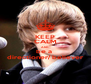 KEEP CALM AND be a  directioner/ believer - Personalised Poster A4 size