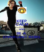 KEEP CALM AND BE A  DIVERGENT REBEL - Personalised Poster A4 size