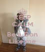 KEEP CALM AND Be a Don Like me - Personalised Poster A4 size