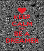 KEEP CALM AND BE A DREAMER - Personalised Poster A4 size