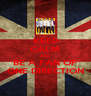 KEEP CALM AND BE A FAN OF ONE DIRECTION - Personalised Poster A4 size