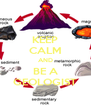 KEEP CALM AND BE A GEOLOGIST - Personalised Poster A4 size
