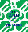 KEEP CALM AND be a girl scout - Personalised Poster A4 size