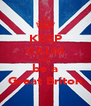 KEEP CALM AND  be a Great Briton - Personalised Poster A4 size