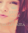 KEEP CALM AND BE A GUAPURITA - Personalised Poster A4 size