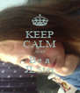 KEEP CALM AND Be a JLSter - Personalised Poster A4 size