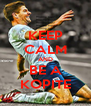 KEEP CALM AND BE A KOPITE - Personalised Poster A4 size