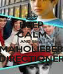 KEEP CALM AND BE A MAHOLIEBER DIRECTIONER - Personalised Poster A4 size