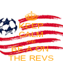 KEEP CALM AND BE A ON  THE REVS - Personalised Poster A4 size