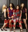 KEEP CALM AND BE A PLL FAN -A - Personalised Poster A4 size