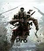 KEEP CALM AND Be A Pro - Personalised Poster A4 size