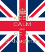 KEEP CALM AND BE A  SAlvadorian - Personalised Poster A4 size
