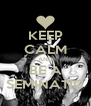 KEEP CALM AND BE A SEMINATIC - Personalised Poster A4 size