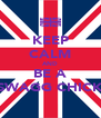 KEEP CALM AND BE A SWAGG CHICK - Personalised Poster A4 size