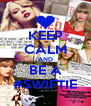 KEEP CALM AND BE A #SWIFTIE - Personalised Poster A4 size