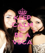 KEEP CALM AND BE A VSCA - Personalised Poster A4 size