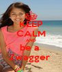 KEEP CALM AND be a  Zwagger  - Personalised Poster A4 size