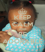 KEEP CALM AND BE ADORABLE - Personalised Poster A4 size