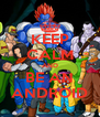 KEEP CALM AND BE AN ANDROID - Personalised Poster A4 size