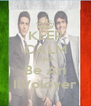 KEEP CALM AND Be An IlVolover - Personalised Poster A4 size