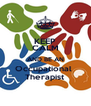 KEEP CALM AND BE AN Occupational  Therapist - Personalised Poster A4 size