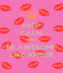 KEEP CALM AND BE AWESOME LIKE AMBER - Personalised Poster A4 size