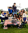 KEEP CALM AND BE AWKWARD. - Personalised Poster A4 size