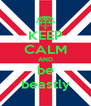 KEEP CALM AND be beastly - Personalised Poster A4 size