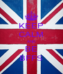 KEEP CALM AND BE BFFS - Personalised Poster A4 size