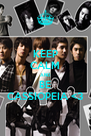 KEEP CALM AND BE CASSIOPEIA <3 - Personalised Poster A4 size