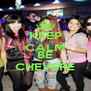 KEEP CALM AND BE CHEVERE - Personalised Poster A4 size